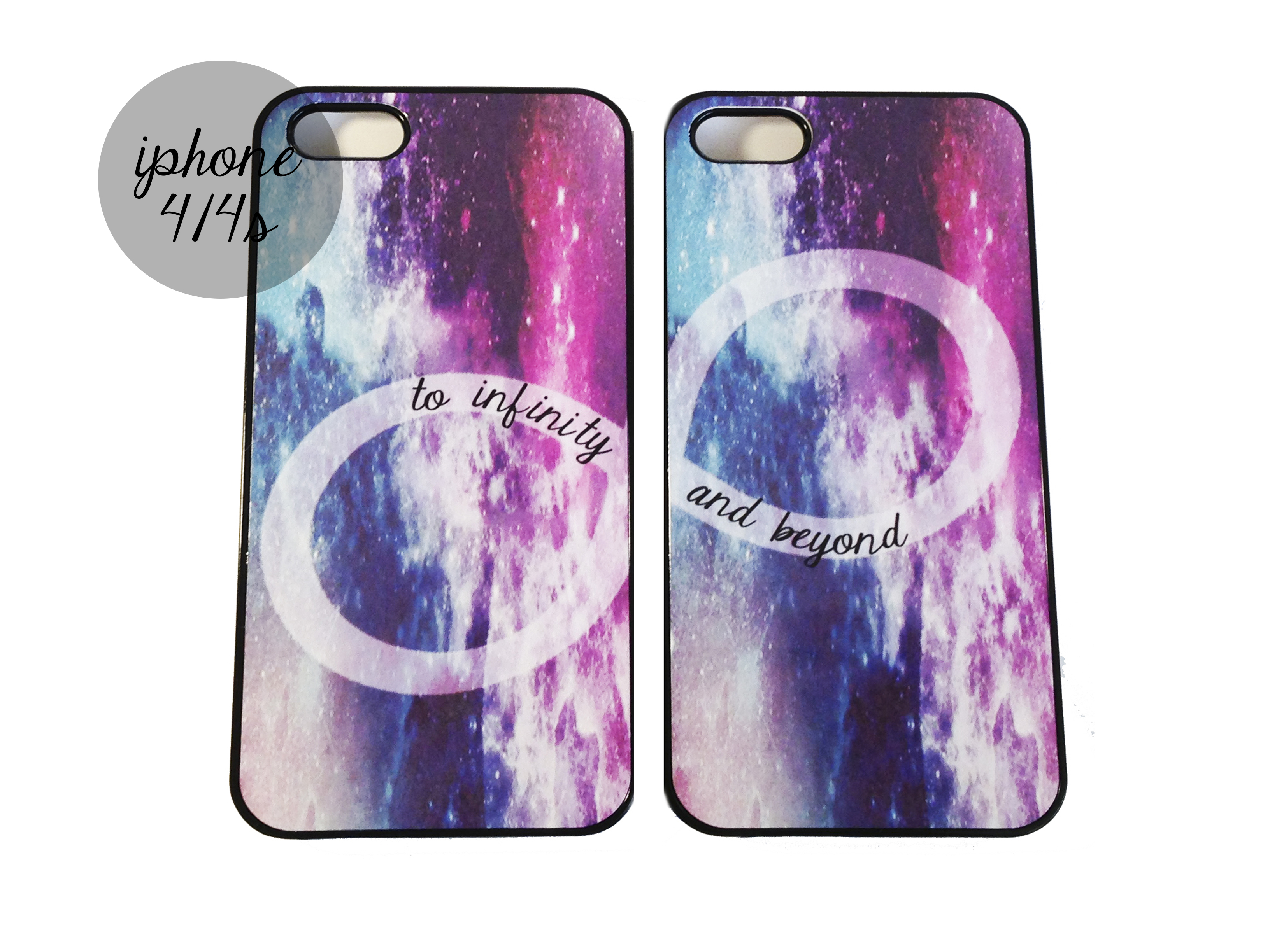 Galaxy To Infinity An Beyond Best Friends Iphone Cases On Luulla